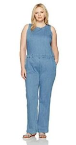 Plus Size Denim Jumpsuit