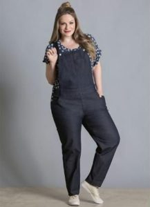 Plus Size Denim Jumpsuits