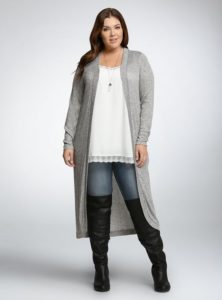 Plus Size Duster Cardigans