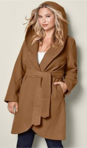 Plus Size Hooded Coats