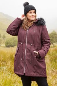 Plus Size Hooded Coats and Jacket