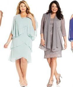 Plus Size Dresses for Wedding with Sleeves