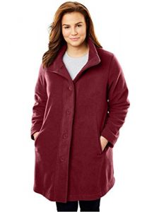 5X Plus Size Long Winter Coats
