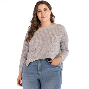 Cropped Tops In Plus Size