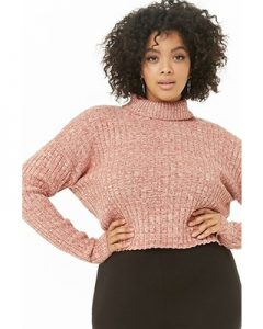 Extra Large Cropped Sweater