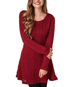 Extra Large Knitted Dress