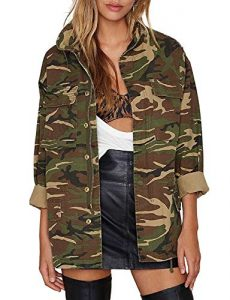 Fatigue Jacket For Plus Size Women