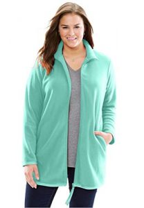 Fleece Jacket Plus Size