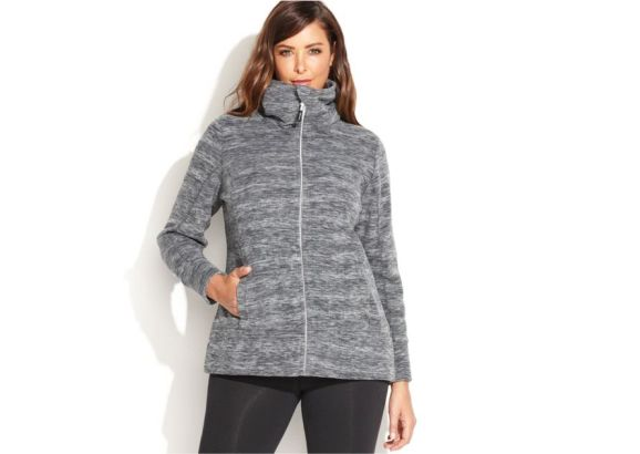 Fleece Jacket Plus Size Women