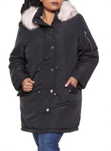 Fur Lined Anorak Jackets