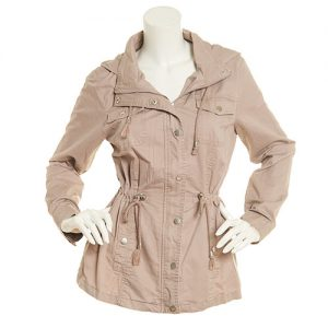 Hooded Jacket For Plus Size