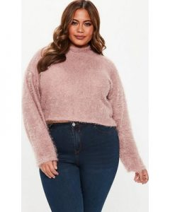 Over Sized Cropped Sweater