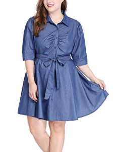 Over Sized Denim Dresses