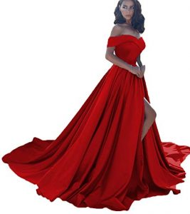 Plus Size Affordable Red Formal Dress