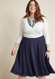 Plus Size Cropped Cardigan