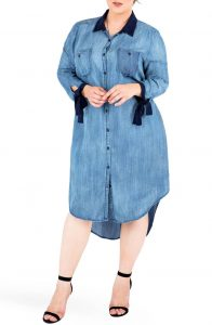Plus Size Jeans Dress