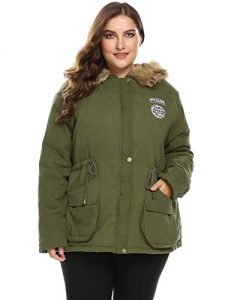Plus Size Parka Jackets