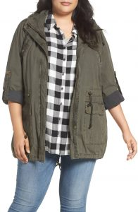 Plus Size Utility Jackets