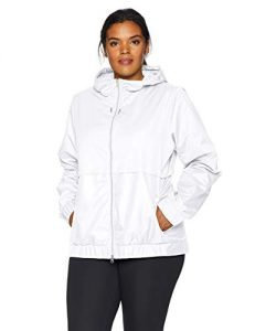 Plus Size Windbreaker Jacket