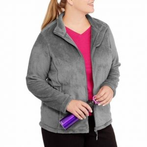 Plus Sized Fleece Jackets