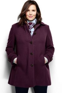 Plus Sized Parka Jacket