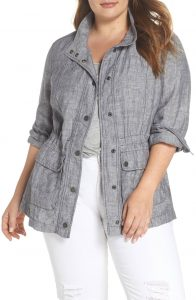 Plus Sized Utility Jacket