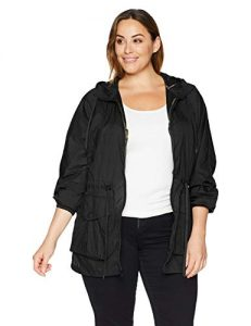 Plus Sized Windbreaker Jackets