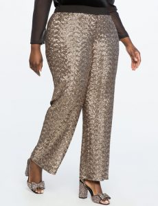 Sequin Pants In Plus Size