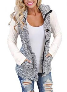 Sleeveless Plus Size Fleece Jacket