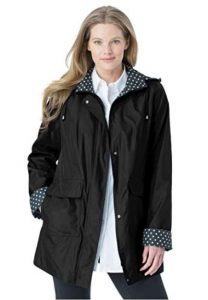 Utility Jacket For Plus Size