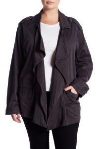 Utility Jacket In Plus Size