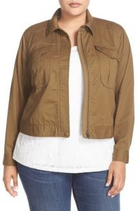 Utility Jacket Plus Size