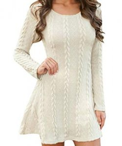 White Knitted Dresses