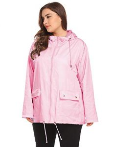 Windbreaker Jacket Plus Size