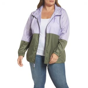 Windbreaker Jacket Plus Size Women