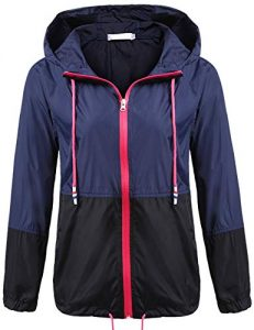Windbreaker Jacket Women Plus Size