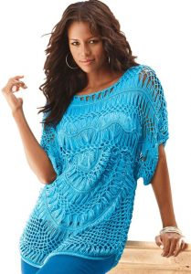 Women Lace Tops In XL