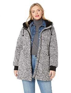 Women Plus Sized Fleece Jacket