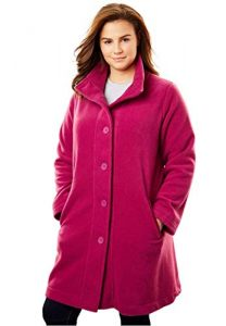 Women's Fleece Jacket For Plus Size