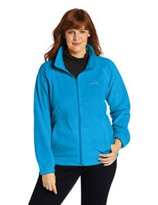 Women's Fleece Jacket in Plus Size