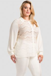 Women's Lace Tops Plus Size