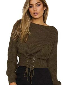 Women's Plus Size Cropped Sweaters