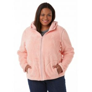 Women's Plus Sized Fleece Jacket