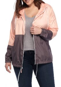 Womens Windbreaker Rain Jacket
