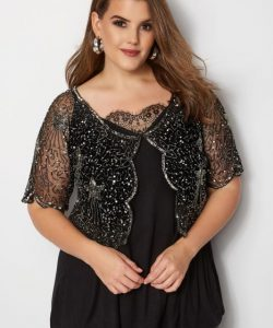 Black Plus Size Shrugs