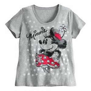 Cute Minnie Image T-Shirt