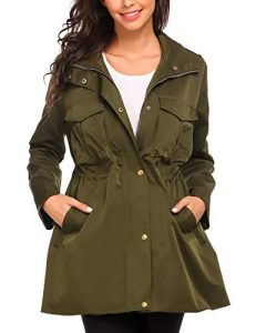 Hooded Military Jacket 5X