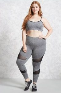 Ladies Plus Size Flattering Workout Clothes