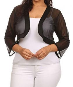 Ladies Plus Size Shrugs