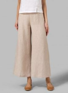 Linen Pants In Plus Size